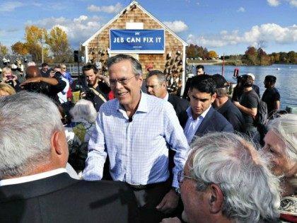 Jeb Bush Campaign New Hampshire AP