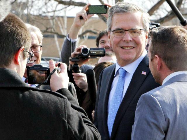 Jeb Bush Visits Biotech Co. AP PhotoJim Cole