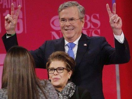 Jeb Bush at GOP Debate (John Bazemore / Associated Press)