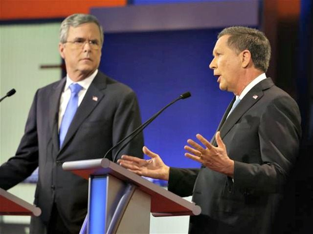 Jeb! Keeps an Eye on Kasich AP