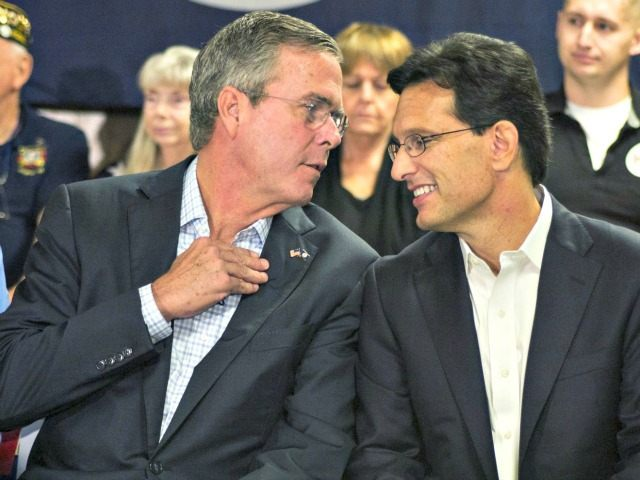 Jeb! and Eric Cantor Jay WestcottReuters