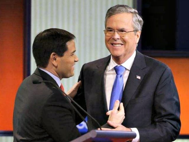Jeb and Rubio AP Chris Carlson