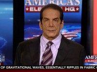Krauthammer: Hillary's Accusing Sanders of Disrespecting 'Icon in Black American History' In Obama