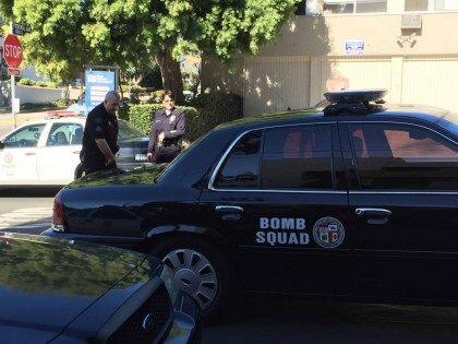 LAPD Bomb Squad (Joel Pollak / Breitbart News)