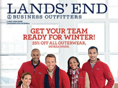 Lands' end catalog