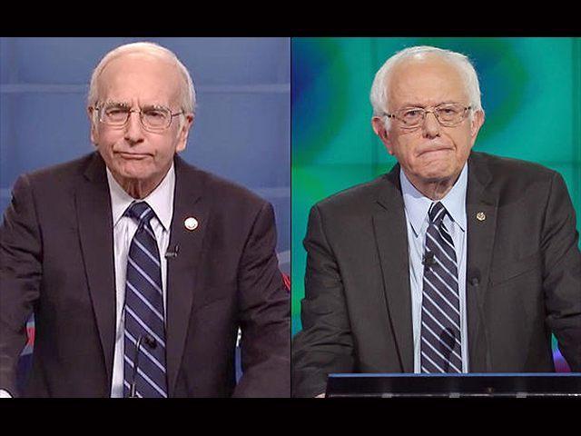 Larry-David-Bernie-Sanders-SNL-Getty