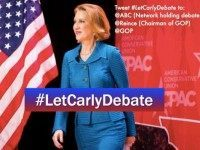 Watch: 'Anybody but Carly' Fiorina Parody Video: Last-Minute Attempt at New Hampshire Debate Main Stage