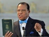 Iran to Unveil Drone at Ceremony Featuring Nation of Islam's Louis Farrakhan