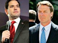Marco Rubio and John Edwards