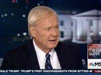 Matthews: My Producer Was 'Teary-Eyed' During Hillary's Speech