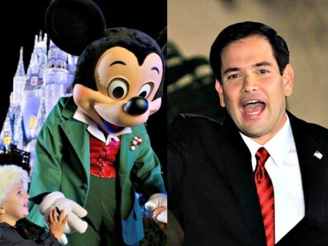 Mickey Disney and Marco Rubio Enthused Alan DiazAP