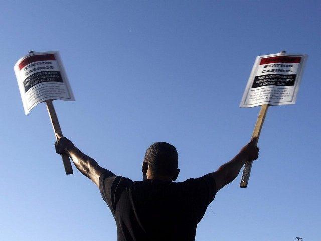 Nevada Latino Protest (Isaac Brekken / Associated Press)