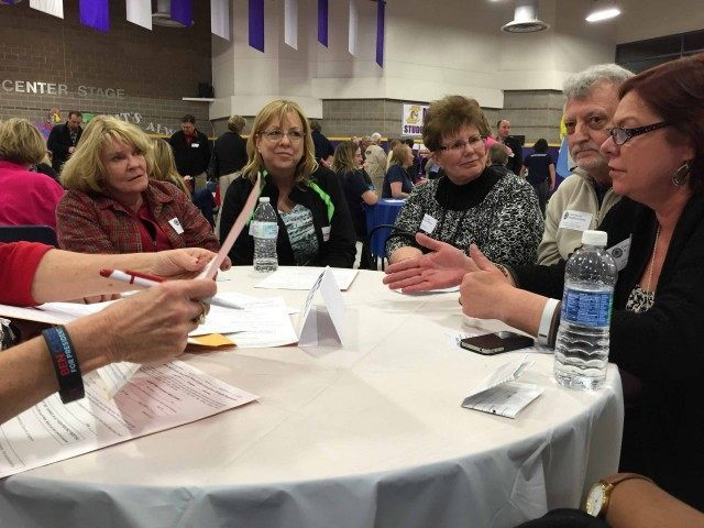 Nevada caucus discussion (Joel Pollak / Breitbart News)