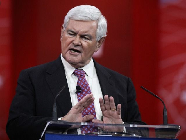 WASHINGTON, DC - FEBRUARY 27, 2015:  Former U.S. Speaker of the House Newt Gingrich (R-GA)