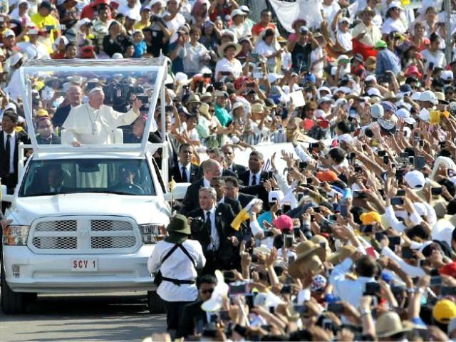 Pope with Masses in Mexico APGregorio Borgia