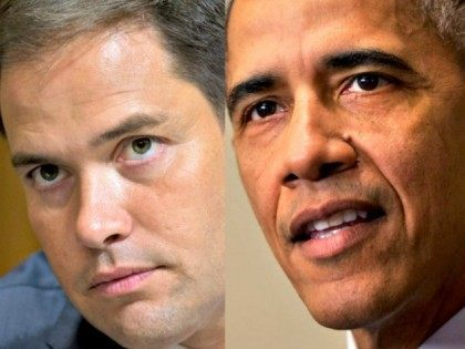 After Joining Obama to Transform America, Marco Rubio Warns Obama Wants to Transform America