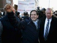 In New Hampshire, Marco Rubio Talks About Growing Crowds 'Here In Iowa'