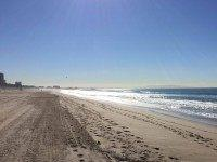 Santa Monica Beach (Joel Pollak : Breitbart News)