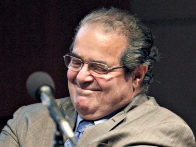 Scalia chuckling APCharles Rex Arbogast