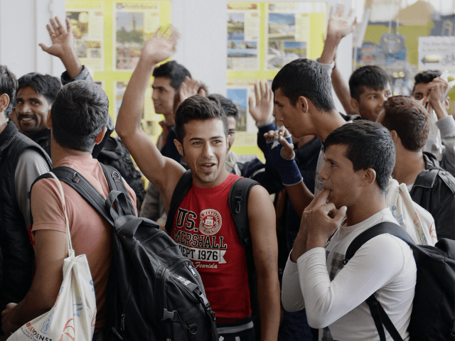 Migrant Men Germany