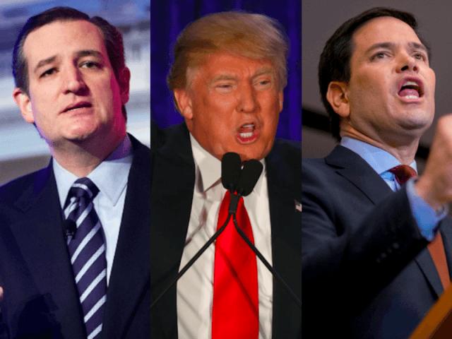 Better leaderboard Cruz Trump Rubio