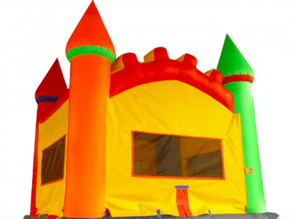 Bouncy house (Corry Dantzler / Flickr / CC / Cropped)