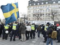 Stockholm Sweden, Migrant Murder Violence