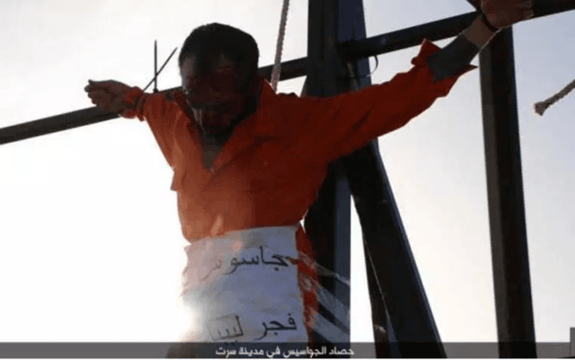 Islamic State Wheelchair Executioner