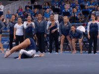 Sophina DeJesus UCLA gymnast (Screenshot / YouTube)