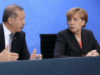 German Chancellor Angela Merkel and Turkish Prime Minister Recep Tayyip Erdogan