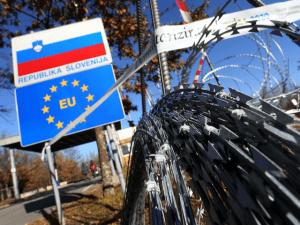 Slovenia Migrant Fence