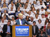 Donald Trump in Las Vegas (Michelle Moons / Breitbart News)