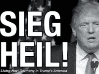 Trump as Hitler - Cropped (The Collegian)