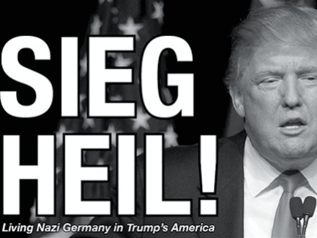 Trump as Hitler - Cropped (The Collegian)