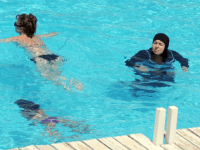 "Town Bans Sharia-Approved ""Burkini"" From Pools"