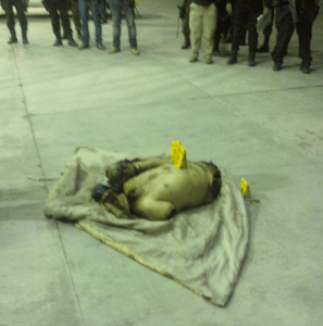 Dismembered Body By Los Zetas