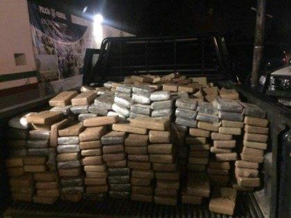 Seized Tamaulipas cocaine