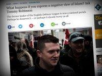 Telegraph Tommy Robinson