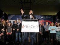 Ted Cruz Nevada caucus speech (John Locher / Associated Press)