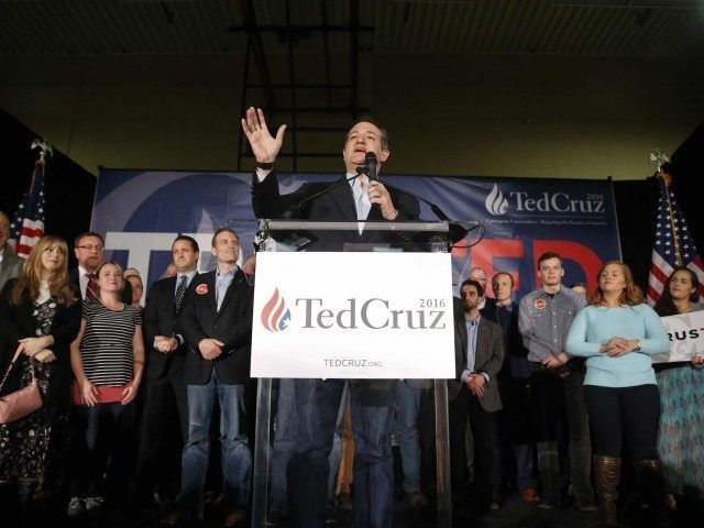 Ted Cruz Nevada caucus speech (John Locher / Associated Press)
