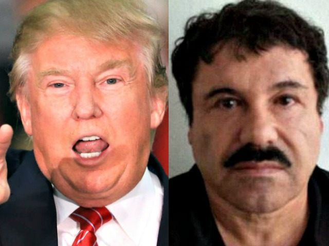 Trump AP El Chapo AFP Getty