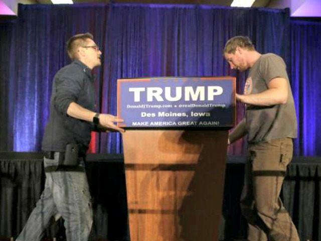 Trump, American Workers AP
