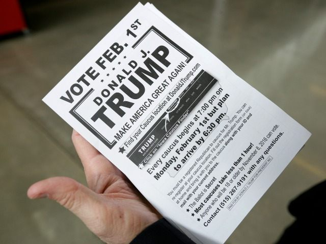 Trump Flyer AP