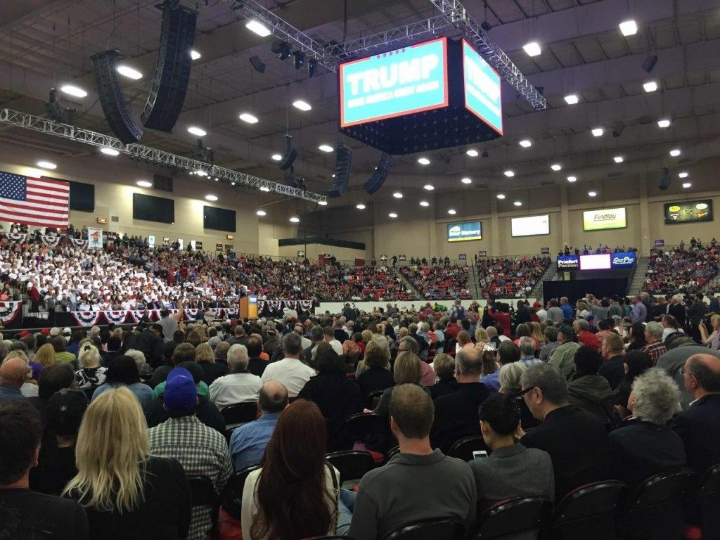 Trump rally at South Point Arena (Joel Pollak / Breitbart News)