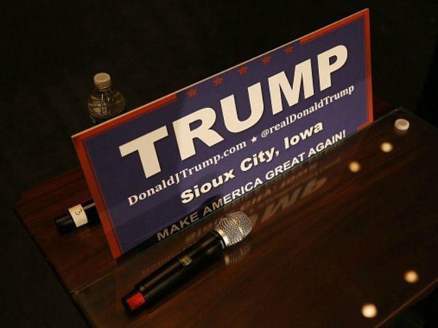 Trump sign Getty