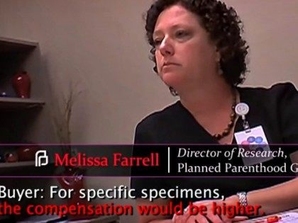 Video of Planned Parenthood Transaction Center for Medical Progress