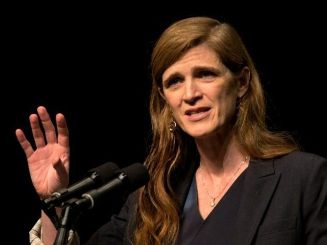 "US ambassador to the United Nations Samantha Power, pictured on February 15, 2016, is submitting a draft UN resolution that calls for ""tougher, more comprehensive"" sanctions on North Korea"