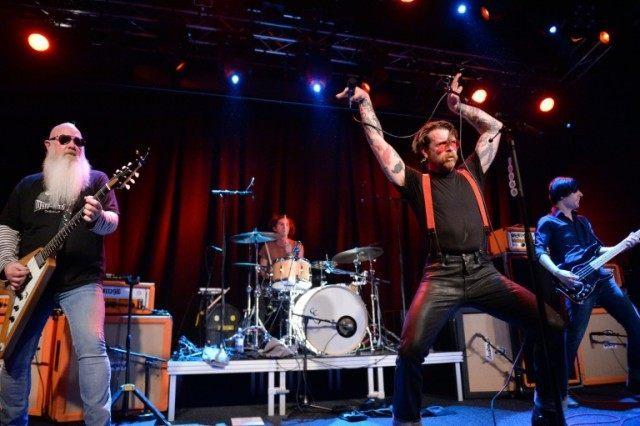 American rockers Eagles of Death Metal perform at Debaser Medis in Stockholm, on February 13, 2016