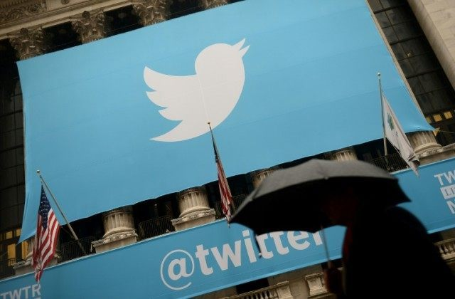 Twitter, which has never earned a profit, said its loss in the past quarter narrowed to $90.2 million from $125 million a year earlier