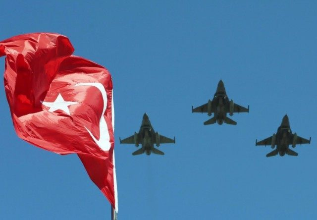 The aerobatic demonstration team of the Turkish Air Force and the national aerobatics team of Turkey